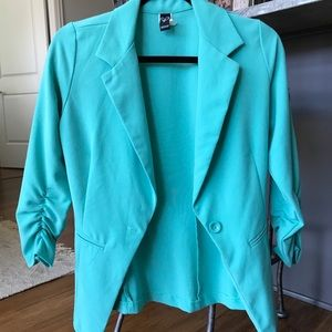 Windsor Teal Blue Blazer